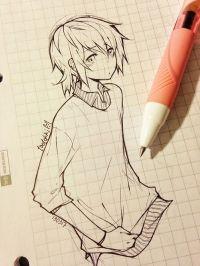 55 Beautiful Anime Drawings   Drawings, Anime and Manga