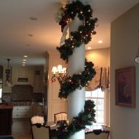 Christmas Decorations For Indoor Columns ...