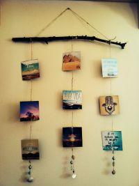 Photo Craft Ideas | Boho, Decoration and Room