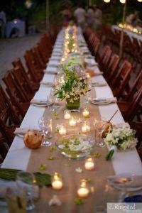 Wedding Table Setting on Pinterest