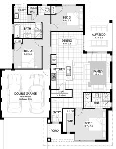 Unusual bedroom floor plan bungalow with valencia unique home plans house also hauser grundrisse pinterest rh
