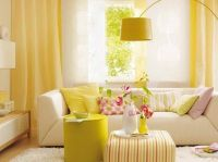rooms with wallpaper | Yellow Wallpaper Decoration for ...