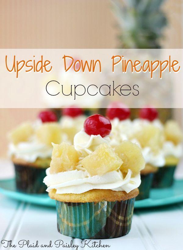 Mini Pineapple Upside Down Cakes Crushed Pineapple