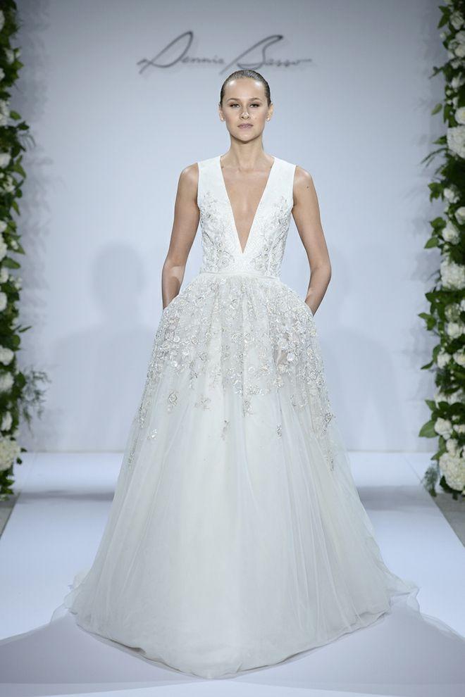 Designer Hochzeitskleider Dennis Basso Kleinfeld Brautkleider 2014
