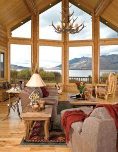 Rustic Cabin Interior Wall Ideas - valoblogi com