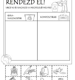 Recycling Game Worksheet   Printable Worksheets and Activities for  Teachers [ 1500 x 1125 Pixel ]
