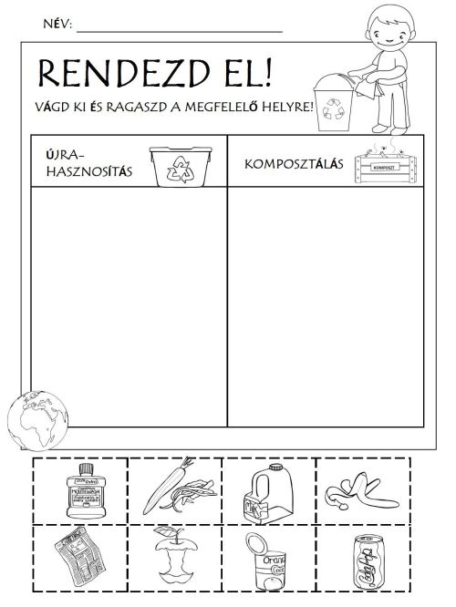 small resolution of Recycling Game Worksheet   Printable Worksheets and Activities for  Teachers