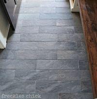 Lowe's Ivetta porcelain black slate tile. | Bathroom ...