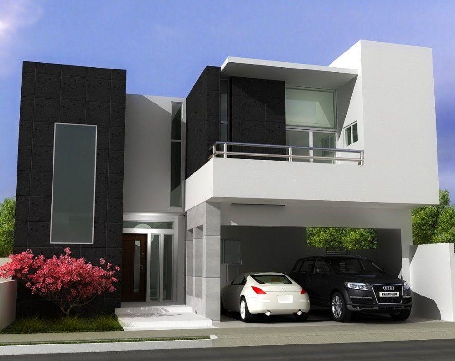 Architecture Home Design Exterior Contemporary House Design Ideas