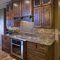 Best Wood Stain For Kitchen Cabinets Menards Islands Knotty Alder Cultivate Home Ideas