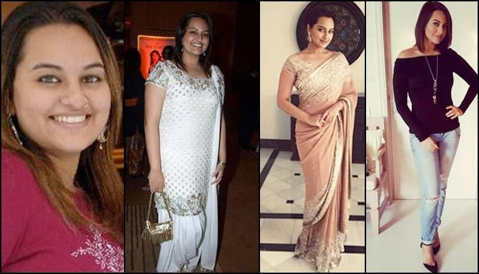revealing the incredible weight loss journey of sonakshi sinha