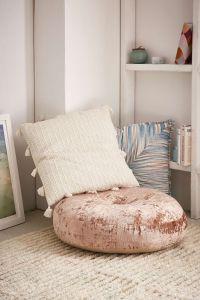 Amya Velvet Pillow Pouf | Pillows, Urban outfitters and Urban