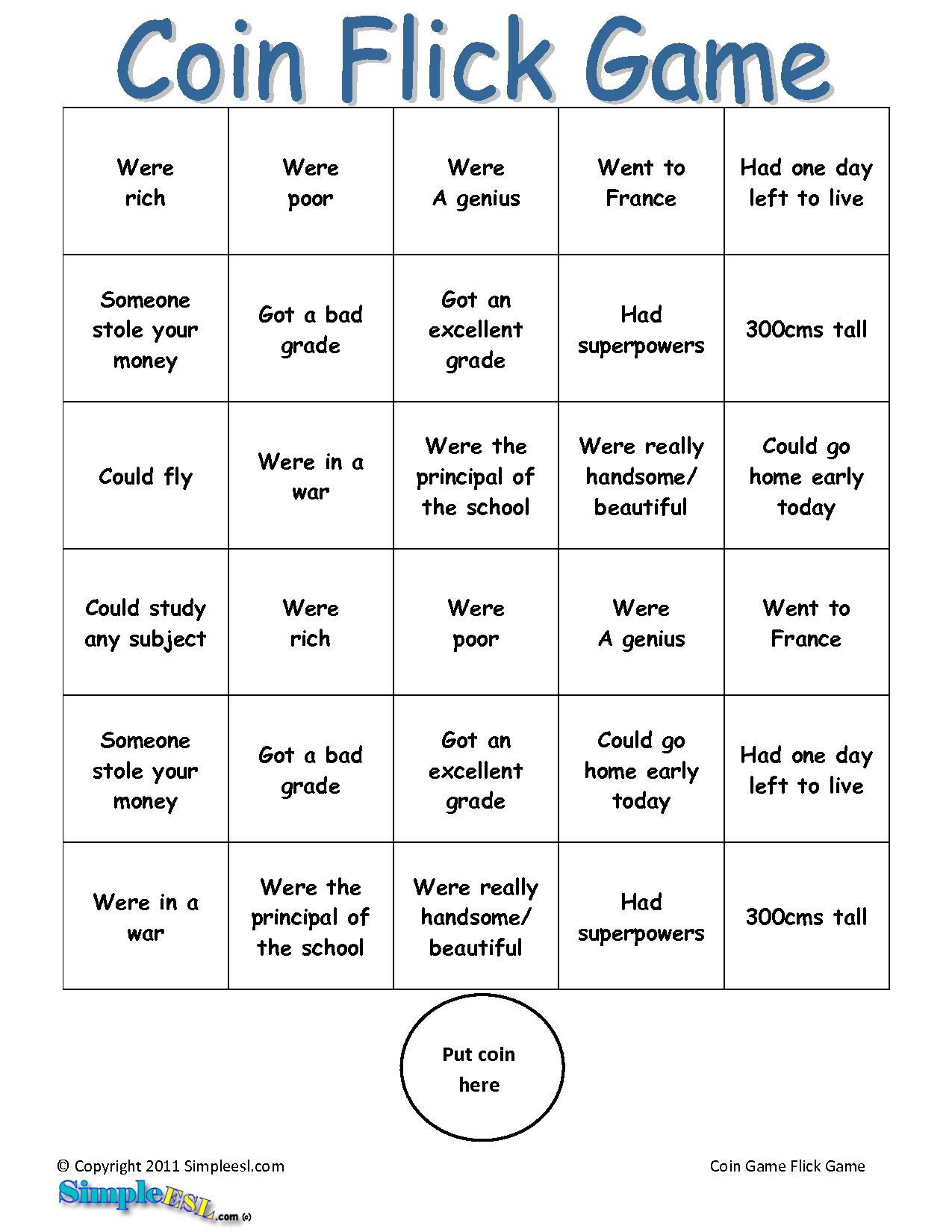 2nd Conditional Game