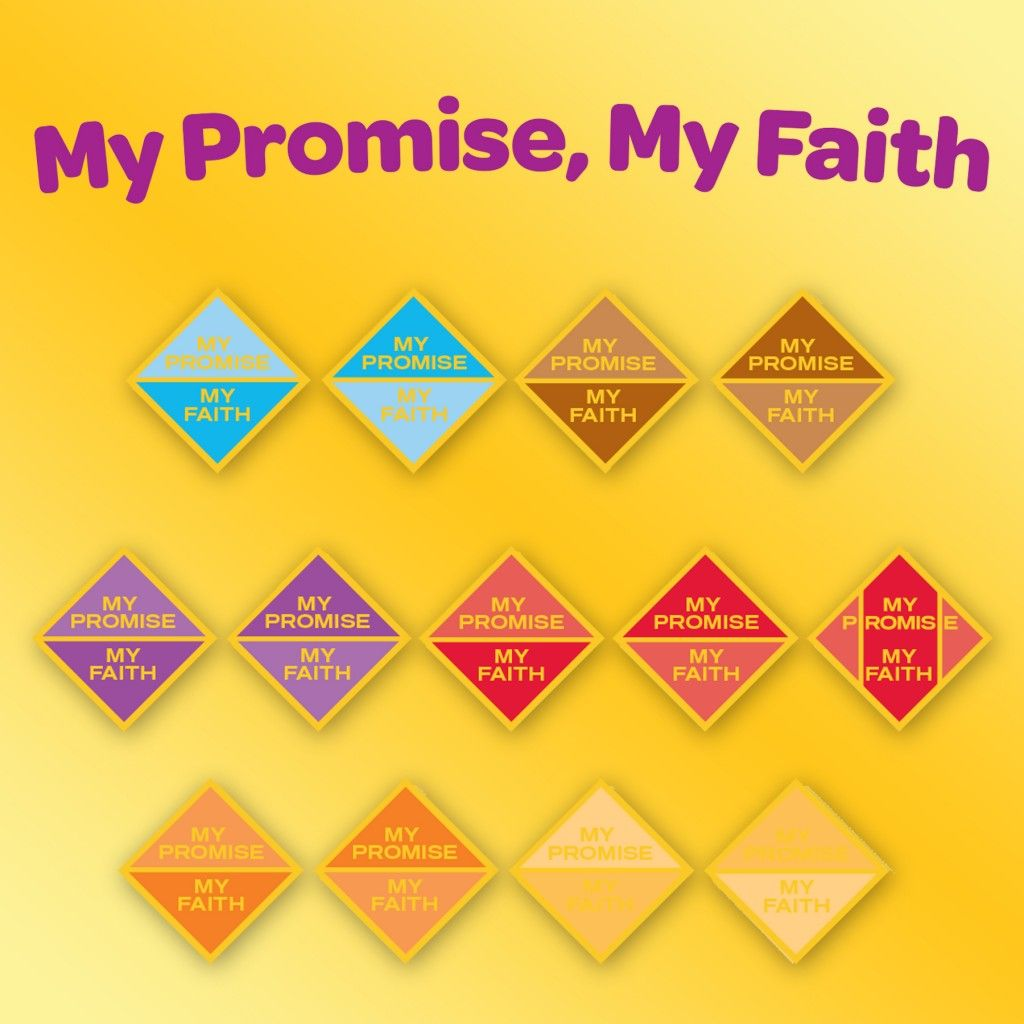 The New Girl Scouts My Promise My Faith Pin Invites Girls In Grades K 12 To Experience A Faith