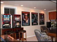 Movie Poster Frames in Game Room | Poster Frames in Use ...