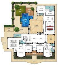 Single Storey Home Design Plan