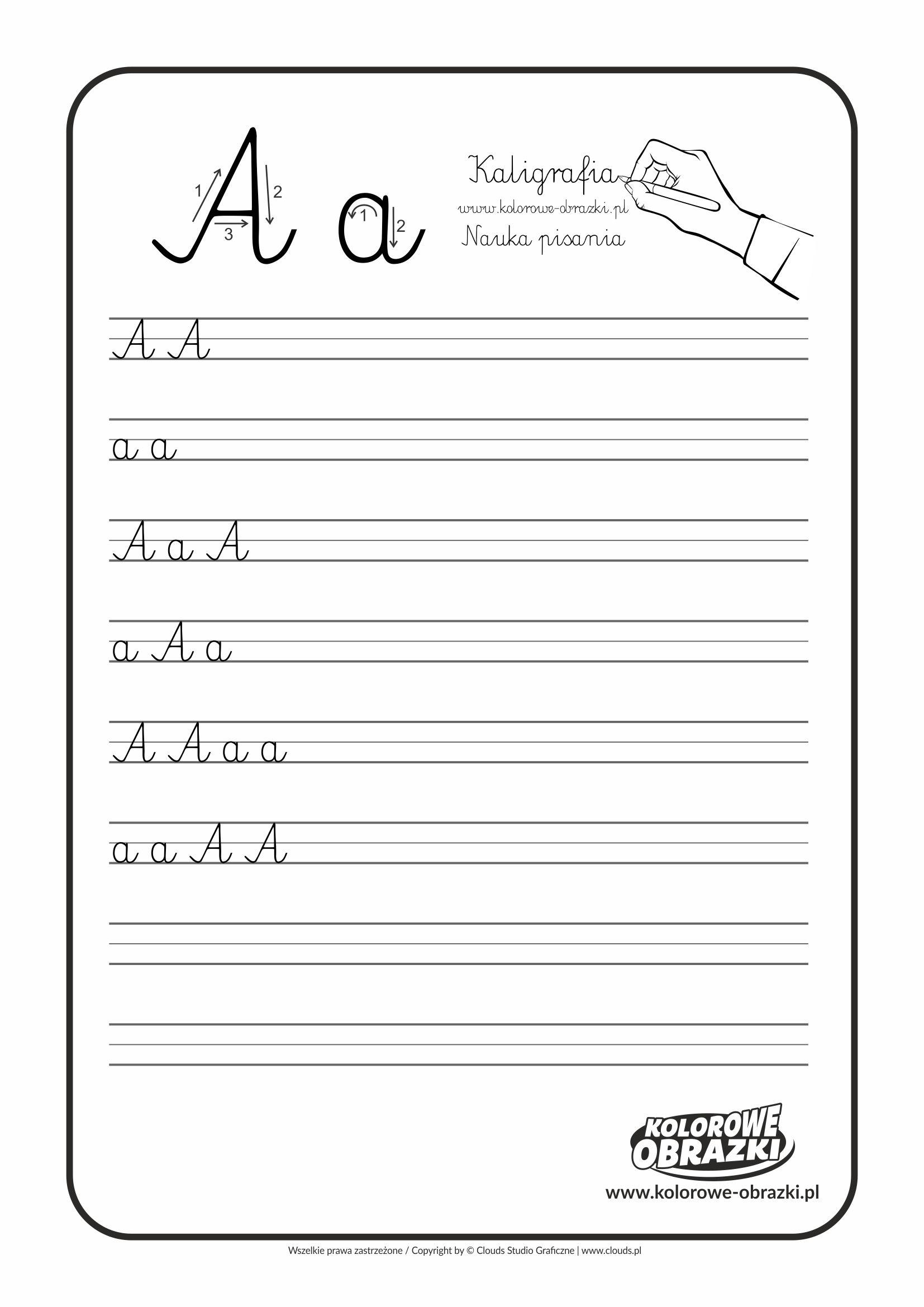 Kaligrafia Dla Dzieci