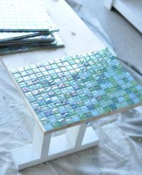 How to Make Your Own Tile Table | Tile tables, Leftover ...