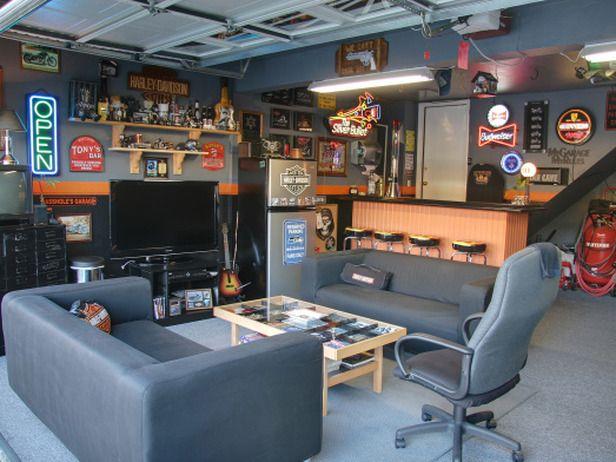 Garage Bar On Pinterest Dream Garage Man Cave Garage
