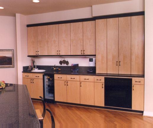 Maple Kitchen Cabinets Contemporary Home Decor