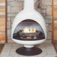 Malm Fireplaces GF3 Fire Drum 3 Freestanding Gas Fireplace ...