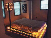 lights under the bed pallet | Room Ideas | Pinterest | Bed ...