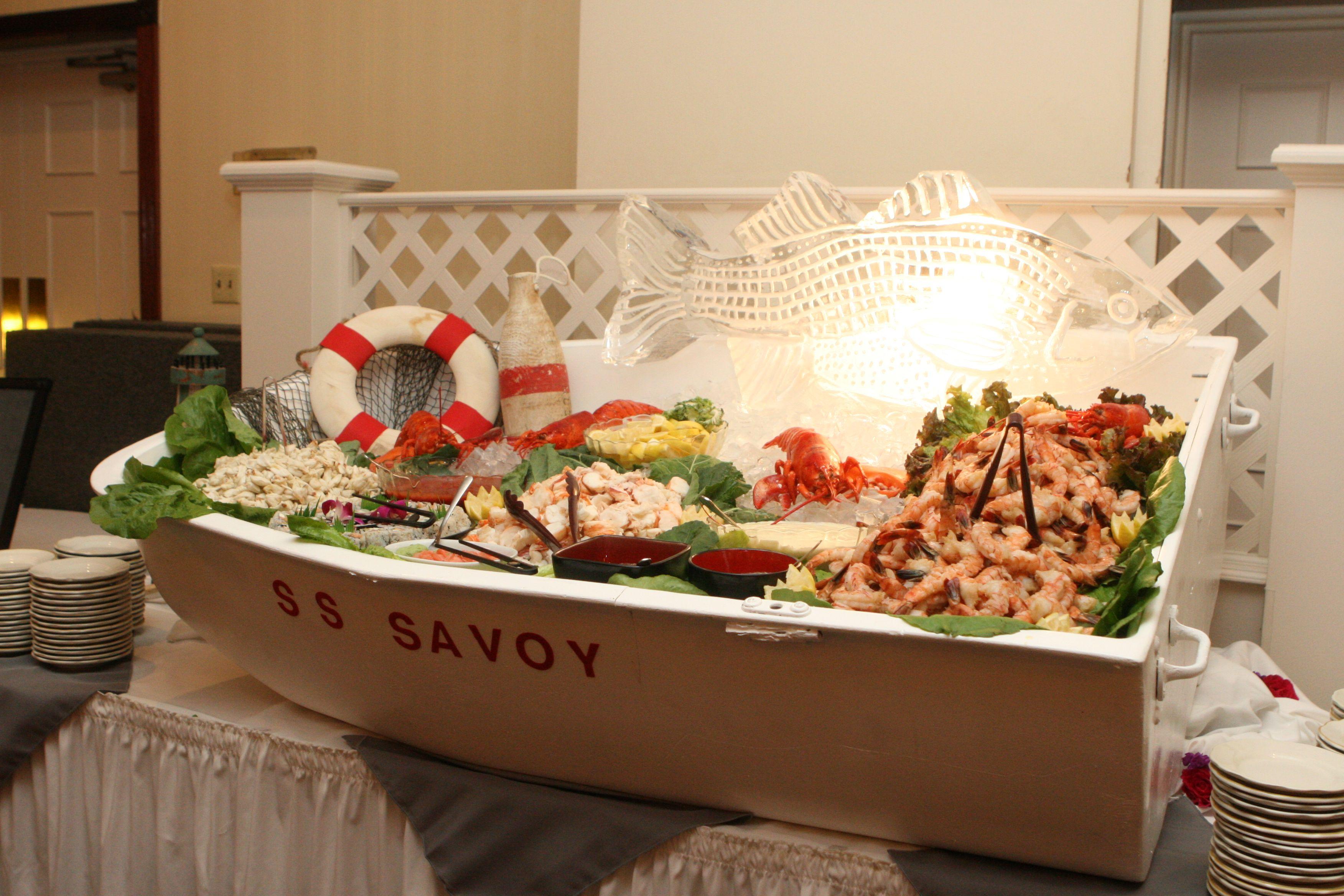 Seafood Display Idea