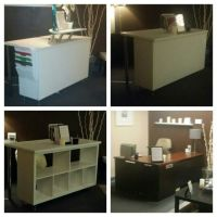 Ikea reception desk hack | Empfangstheke Ikea Hack ...