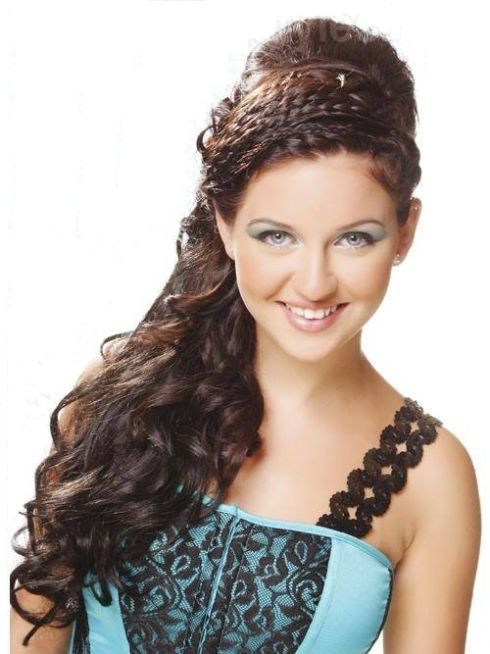 Get Charming Easy Party Hairstyles CBSE Pinterest Long Hair