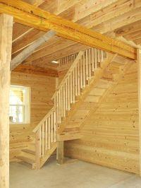 Loft Stair design for 12 high walls. When barn is built ...