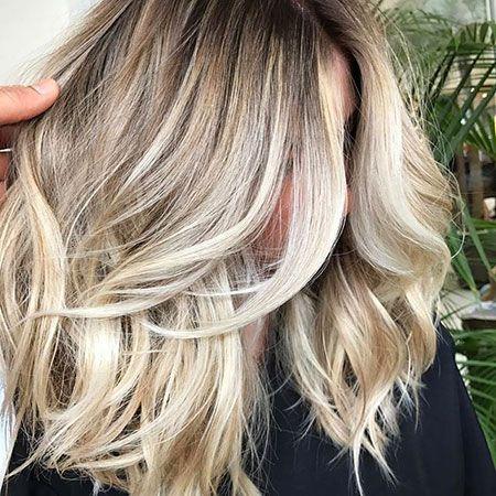 Short Blonde Hair Hair Pinterest Hellblond Und Haar