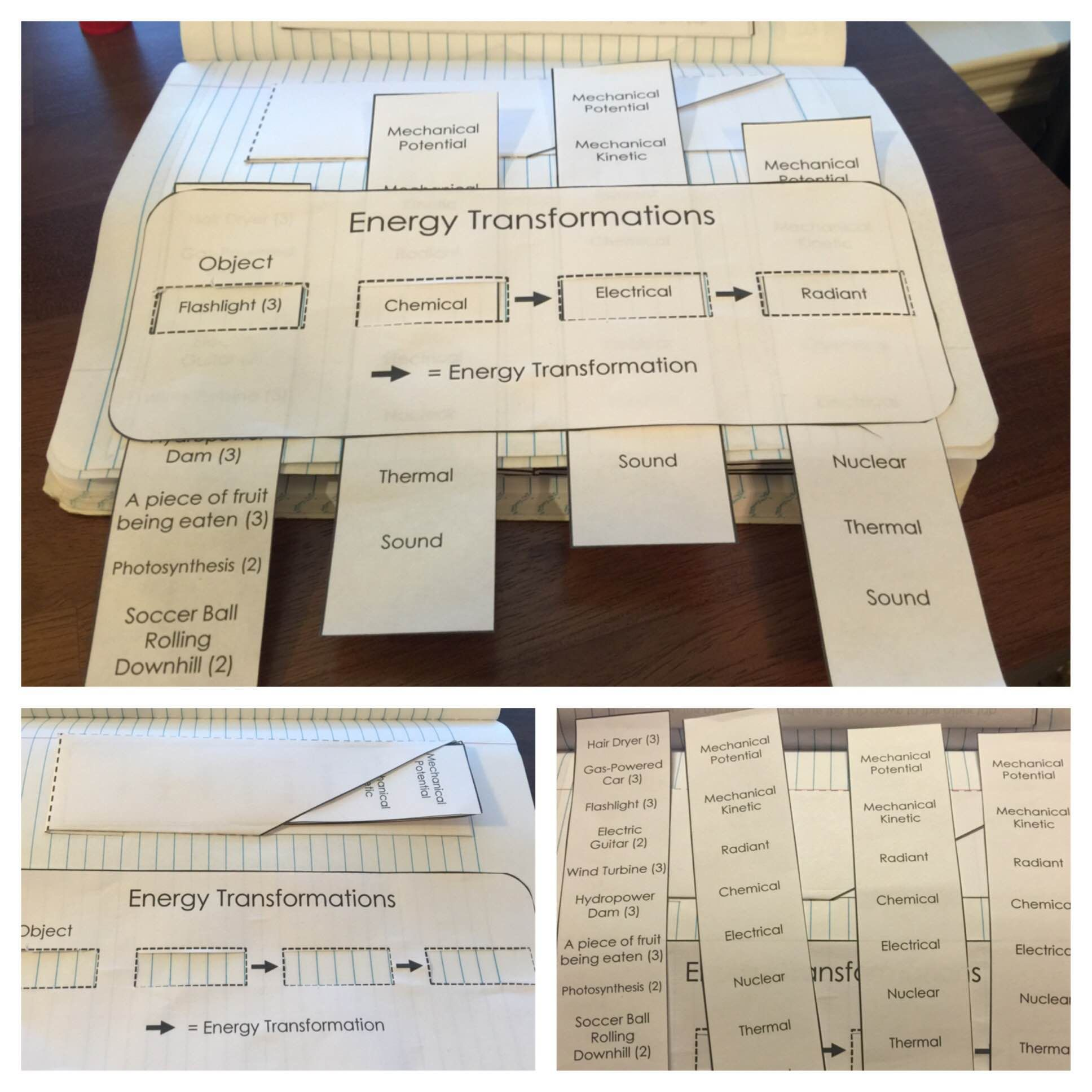 Energy Science Journal And Interactive Notebook Pages