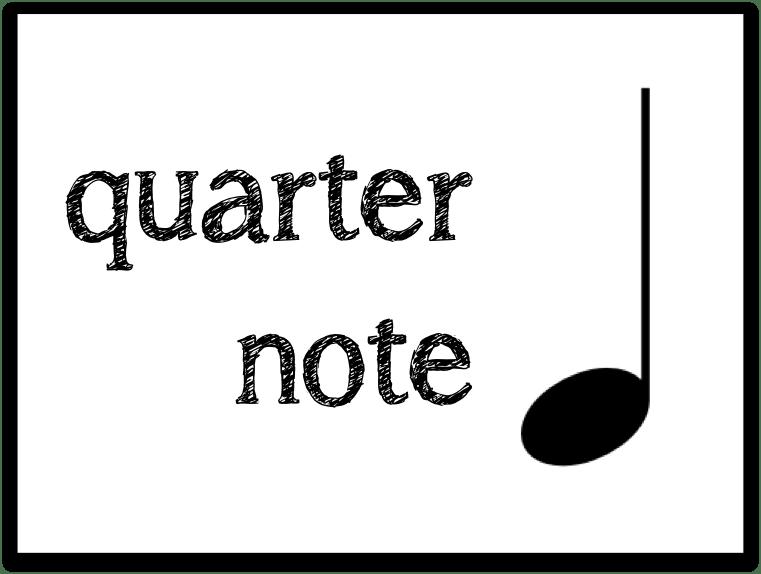 Beth's Music Notes: Quarter Note & Quarter Rest Printables
