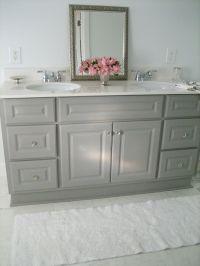 Gray Bathroom Vanities on Pinterest