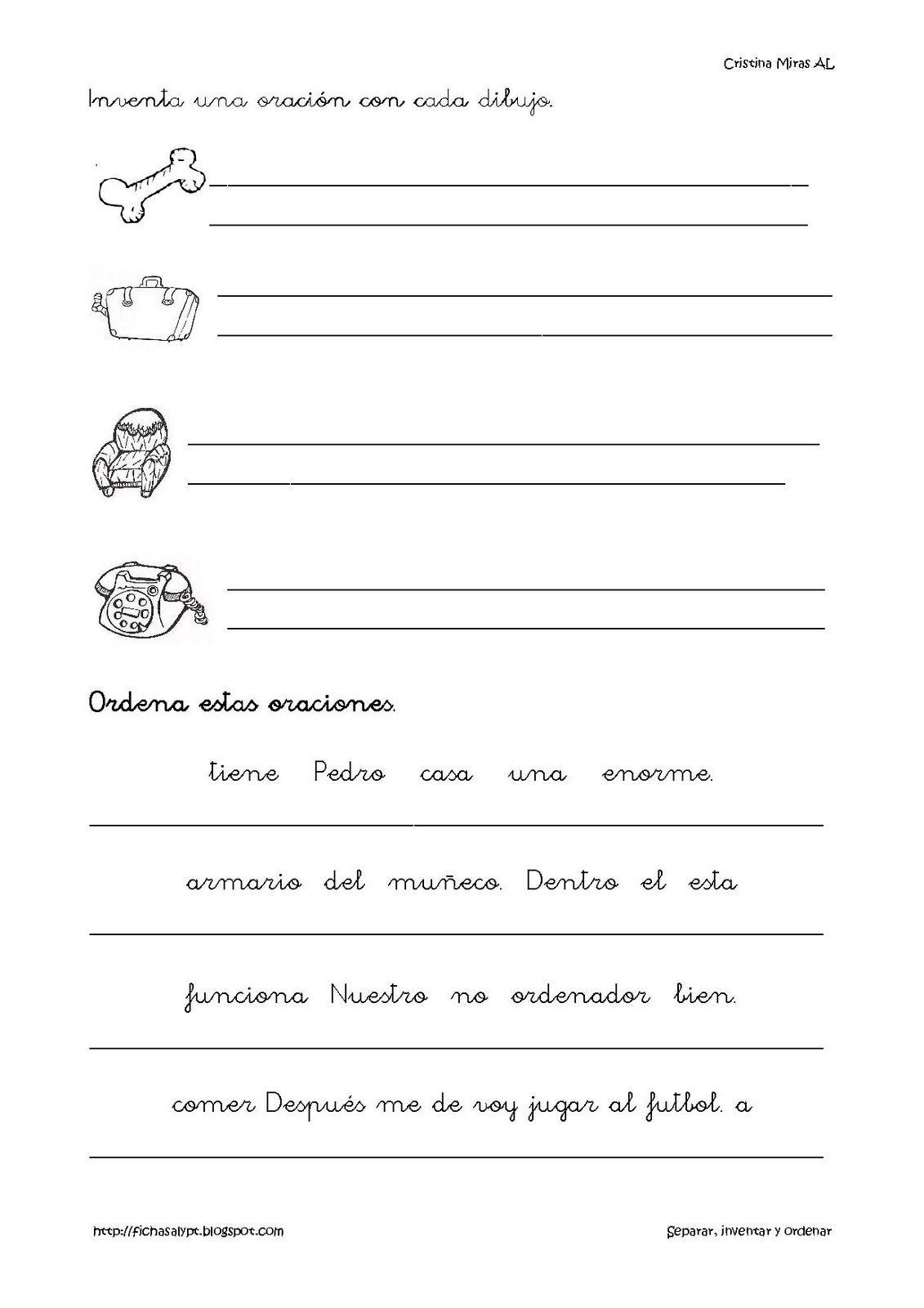 Recursos Y Materiales Imprimibles Para Alumnos De Al Pt