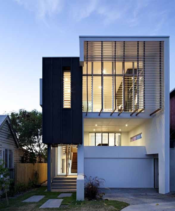 Contemporary Small House Ideas In Brisbane By BASE Architecture