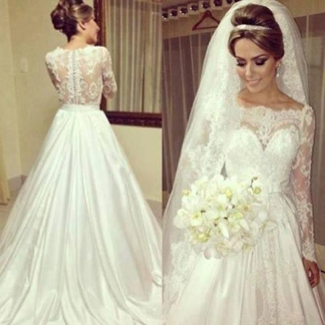 Brautkleid Spitze Vintage Hochzeitskleid Pinterest Hochzeit