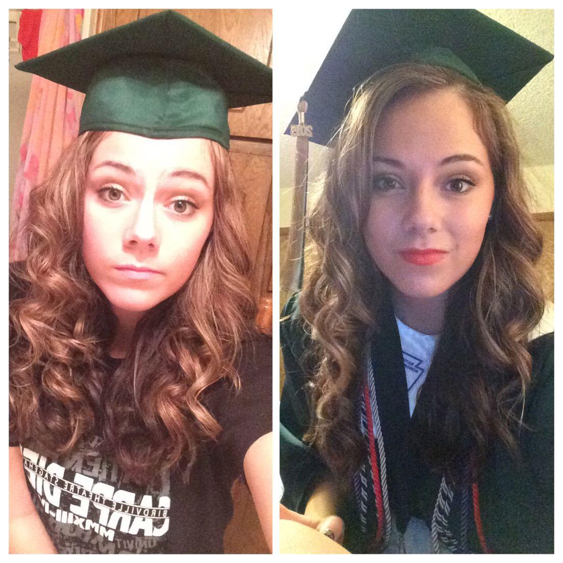 Lulus How To Graduation Cap Hair Tutorial Your Hair Graduation