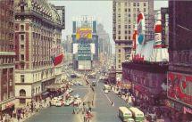 Times Square Circa Late 1950s York