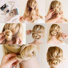 FOTOS Brautfrisuren Für Lange Haare Flechtfrisuren Zum Zum
