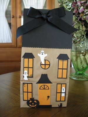 Paper Bag Halloween Projects Fall And Halloween Ideas