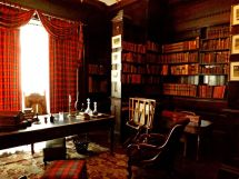 Victorian Library Study Room