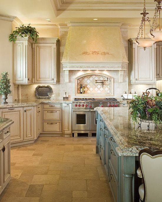 French Country Kitchen  Design Kitchens Heart of the