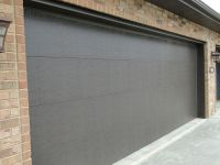 CONTEMPORARY (FLAT PANEL) garage-doors | Custom Homes by ...