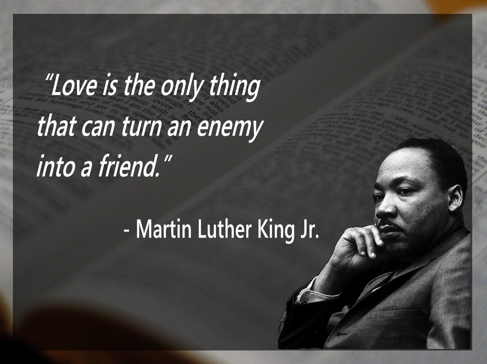 Martin Luther King Love Quotes Agape Love Quotes Mlk Jr Picture