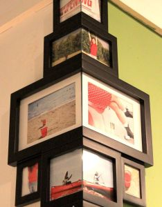 Room also corner photo frames love this idea and is so unique rh pinterest