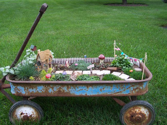 10 Amazing Miniature Fairy Garden Ideas Gardens Across And Away