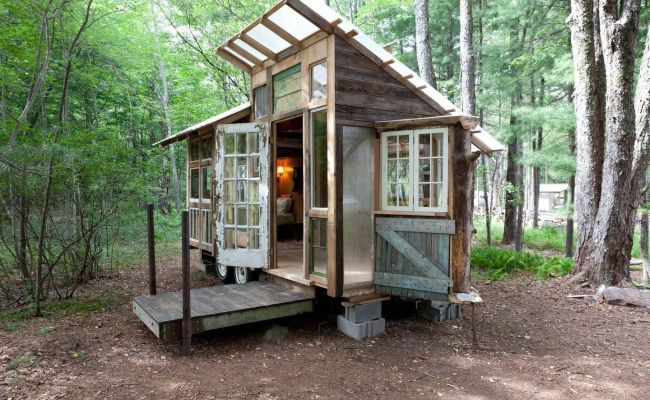Inspiration From Tiny Airbnb Home On Farm Upstate