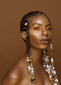 10 Inspirational Photos of Braids with Beads and Cowrie ...