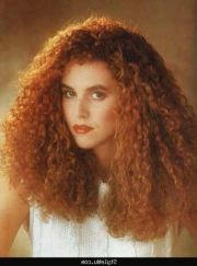 result curly hair 1980s